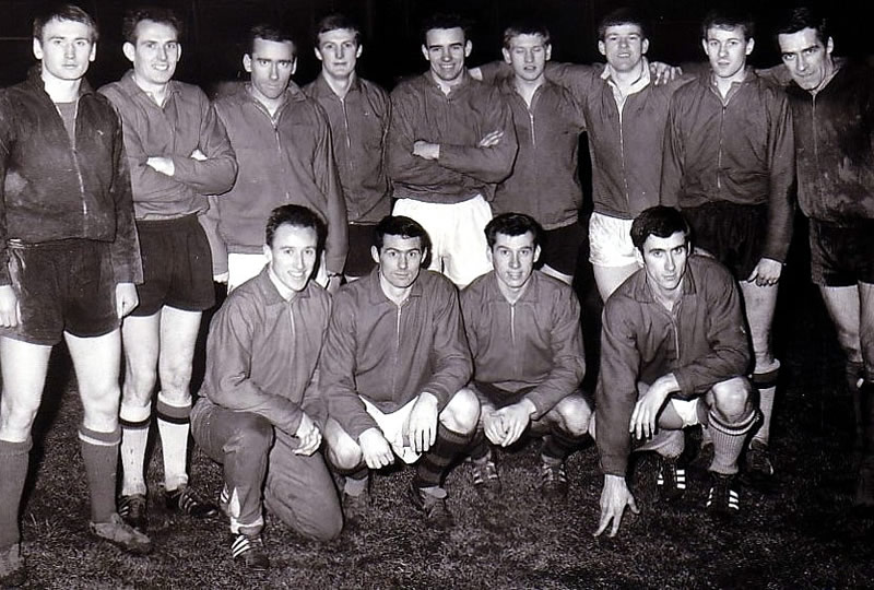 Members Of The Famous 1966 67 Squad Pictured At Shawfield