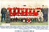 Clyde F.C. Season 1909-1910